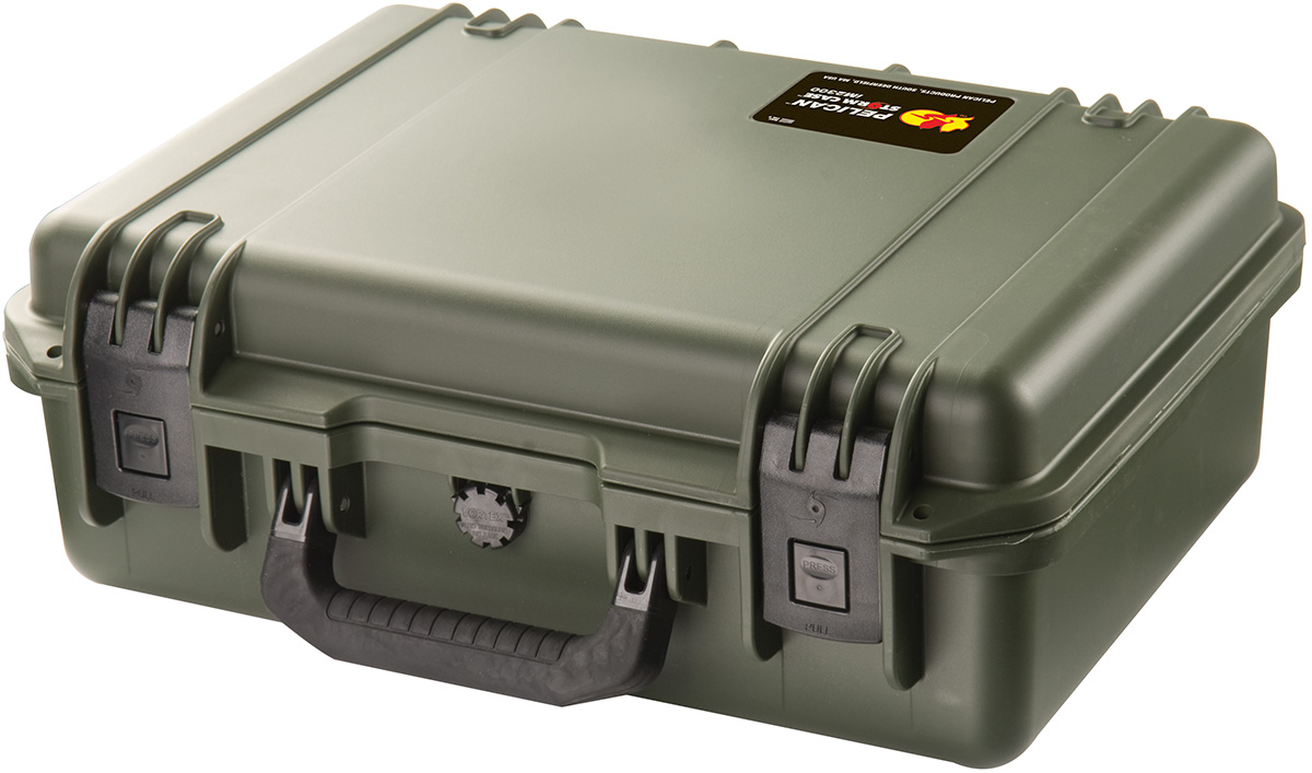 pelican peli products iM2300 hardig storm 2300 green case