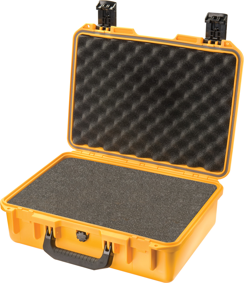 pelican im2200 yellow foam laptop case