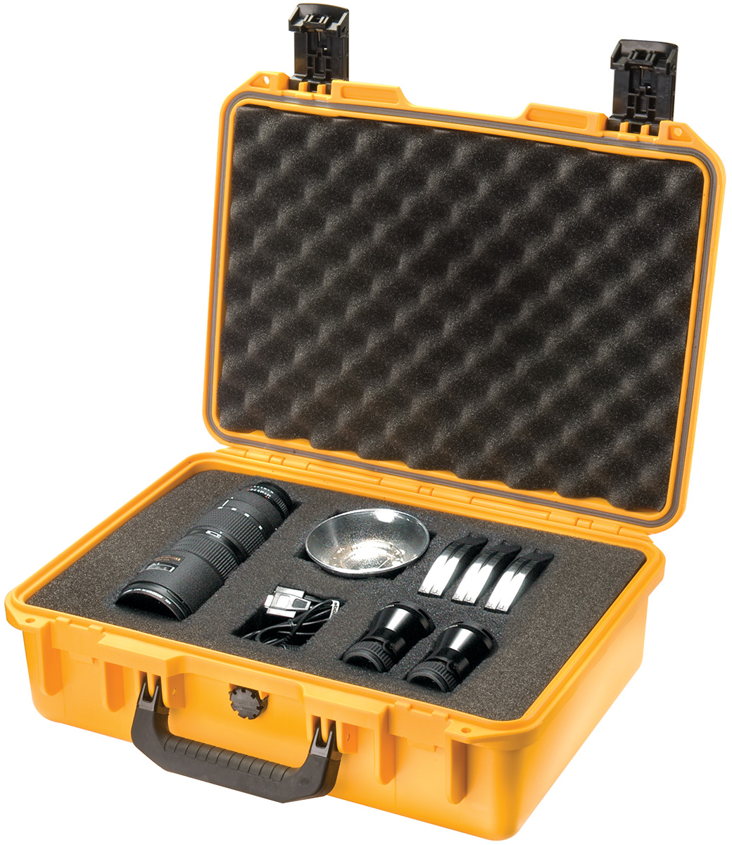 pelican waterproof hard camera storm case