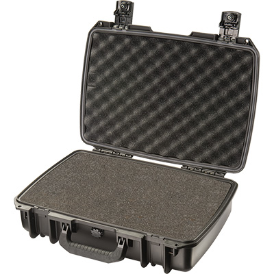 pelican im2370 black foam laptop case
