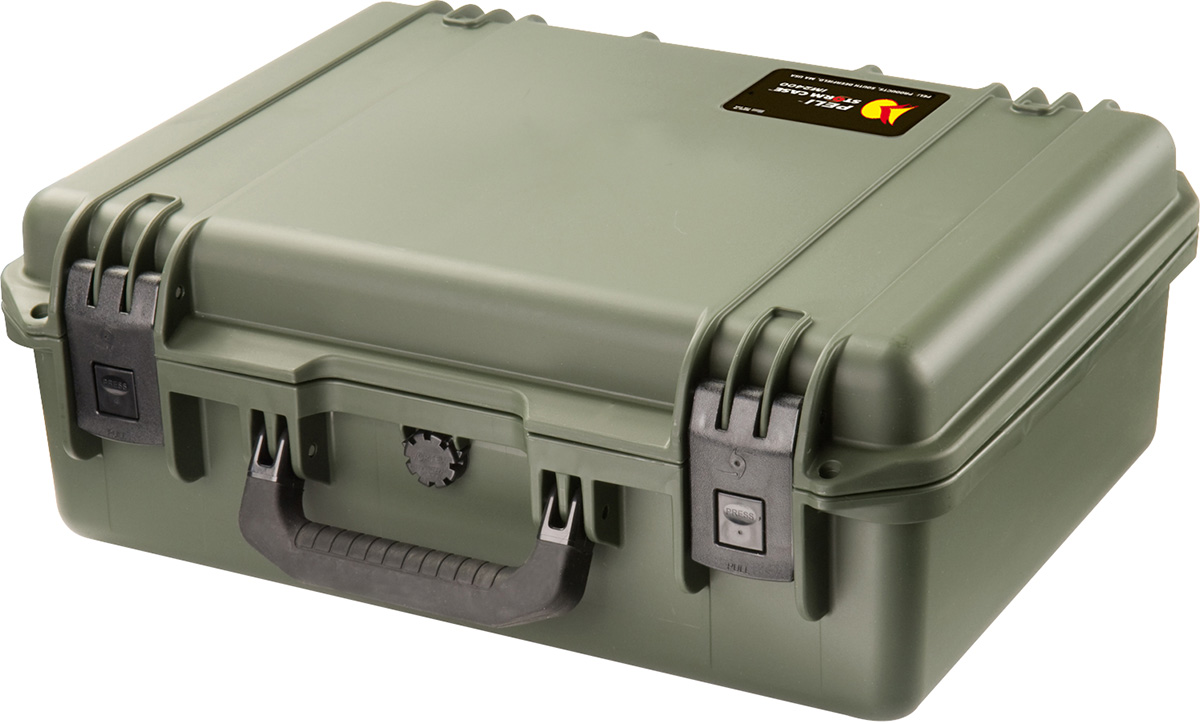 peli im2400 storm green carrying case