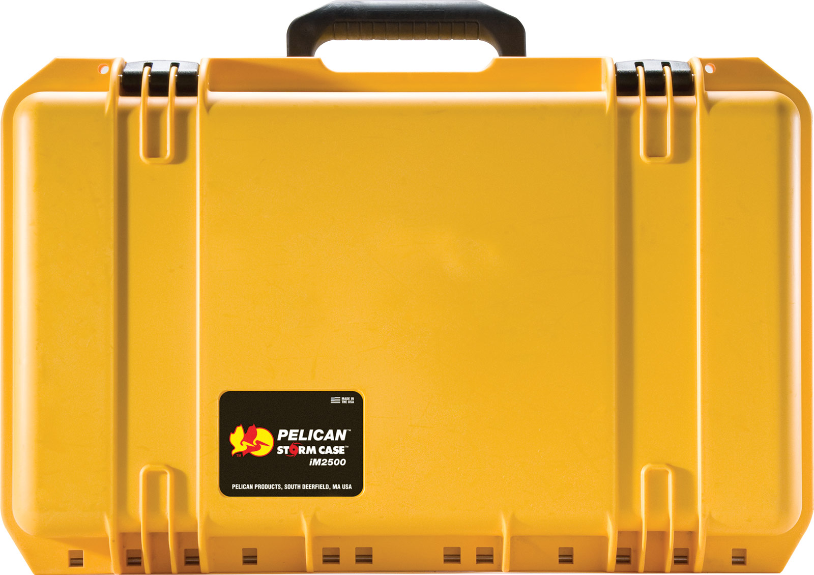 pelican im2500 yellow hard case