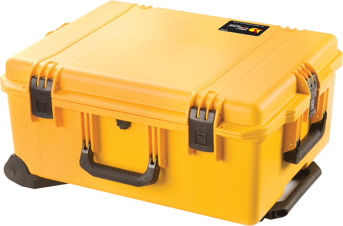 pelican im2720 storm yellow wheeled hard case