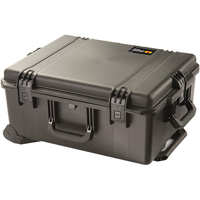 pelican hard rolling travel transport case