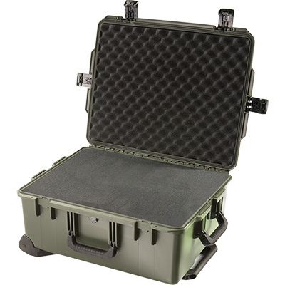 pelican im 2720 wheeled foam case