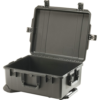 pelican waterproof rolling travel hard case