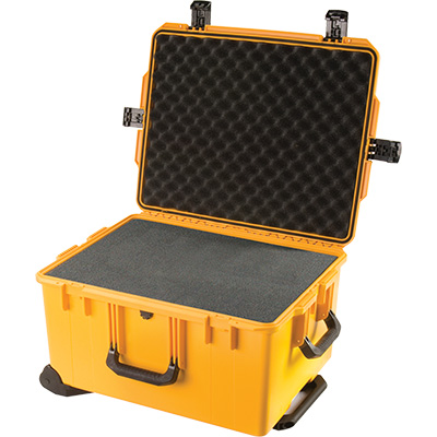 pelican im2750 foam yellow camera case