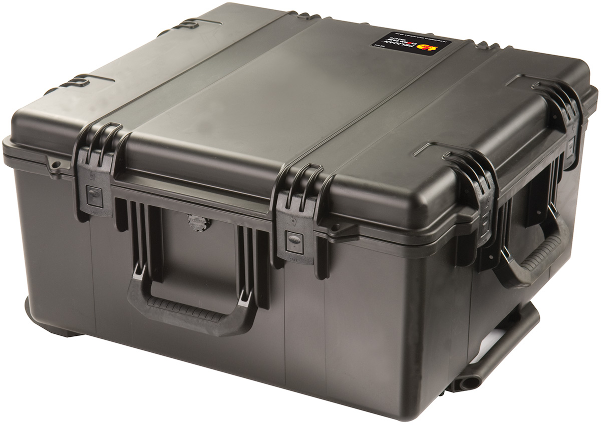 pelican rolling electronics transport case