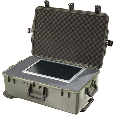 pelican storm rolling wheeled toughest case