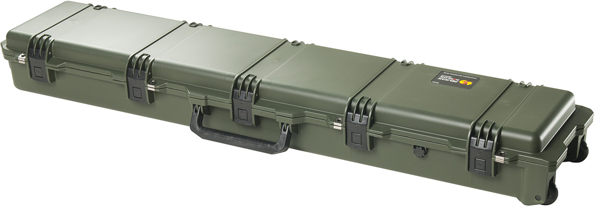 pelican hardigg green usa made rifle case