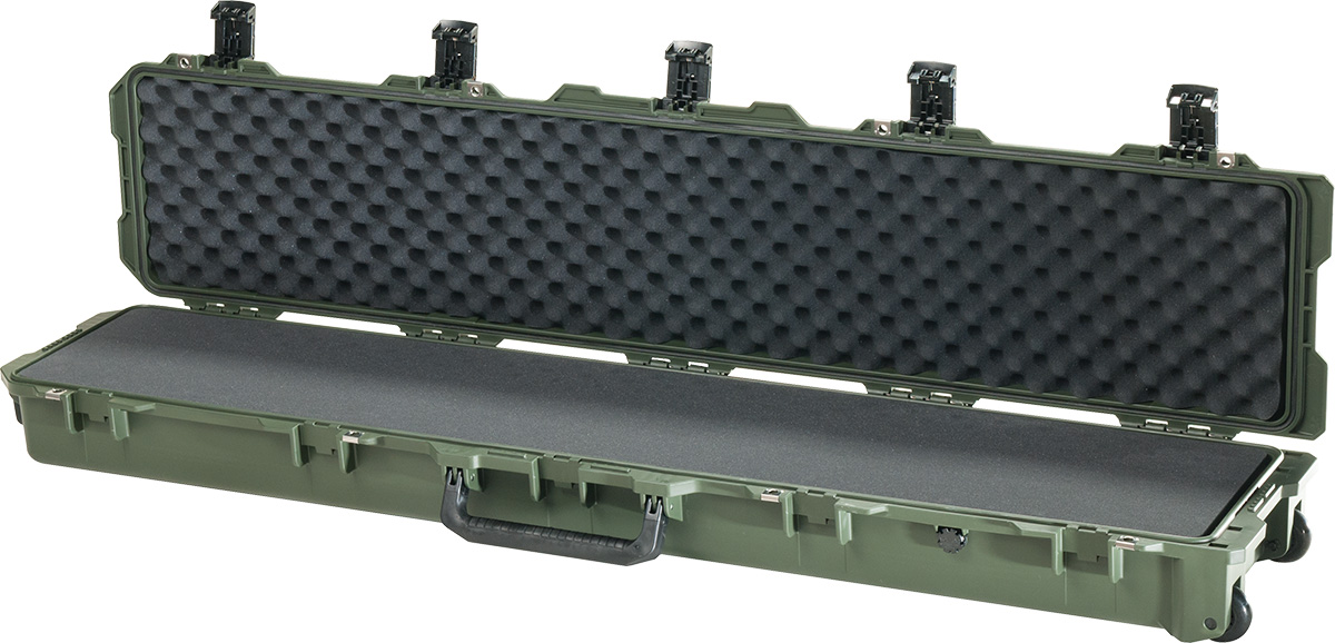pelican im3410 green foam rifle case