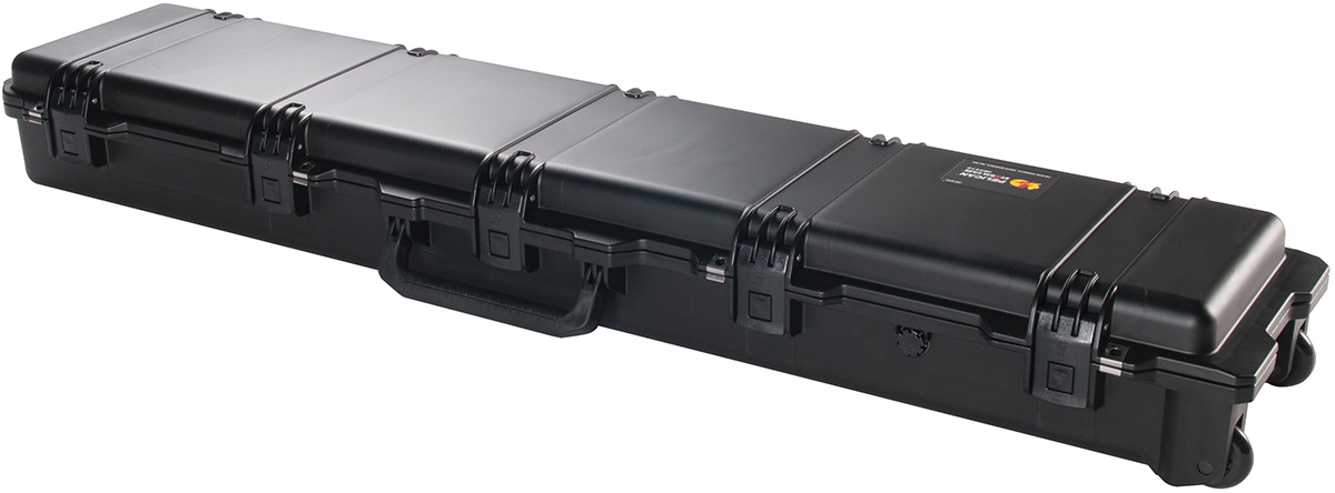 pelican rolling rifle gun watertight case