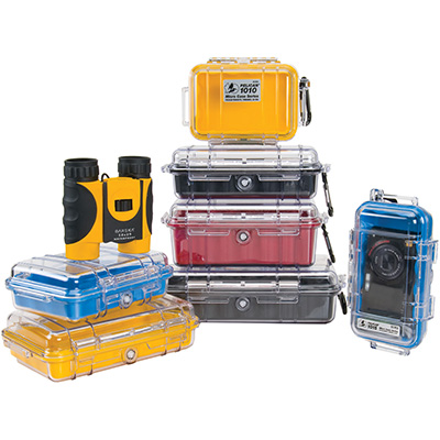 pelican micro small waterproof hard cases