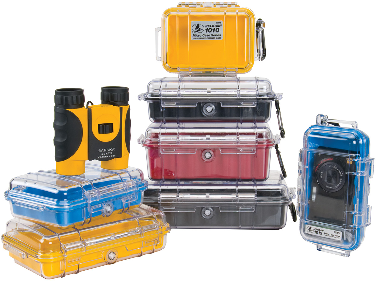 pelican peli products micro small waterproof hard cases