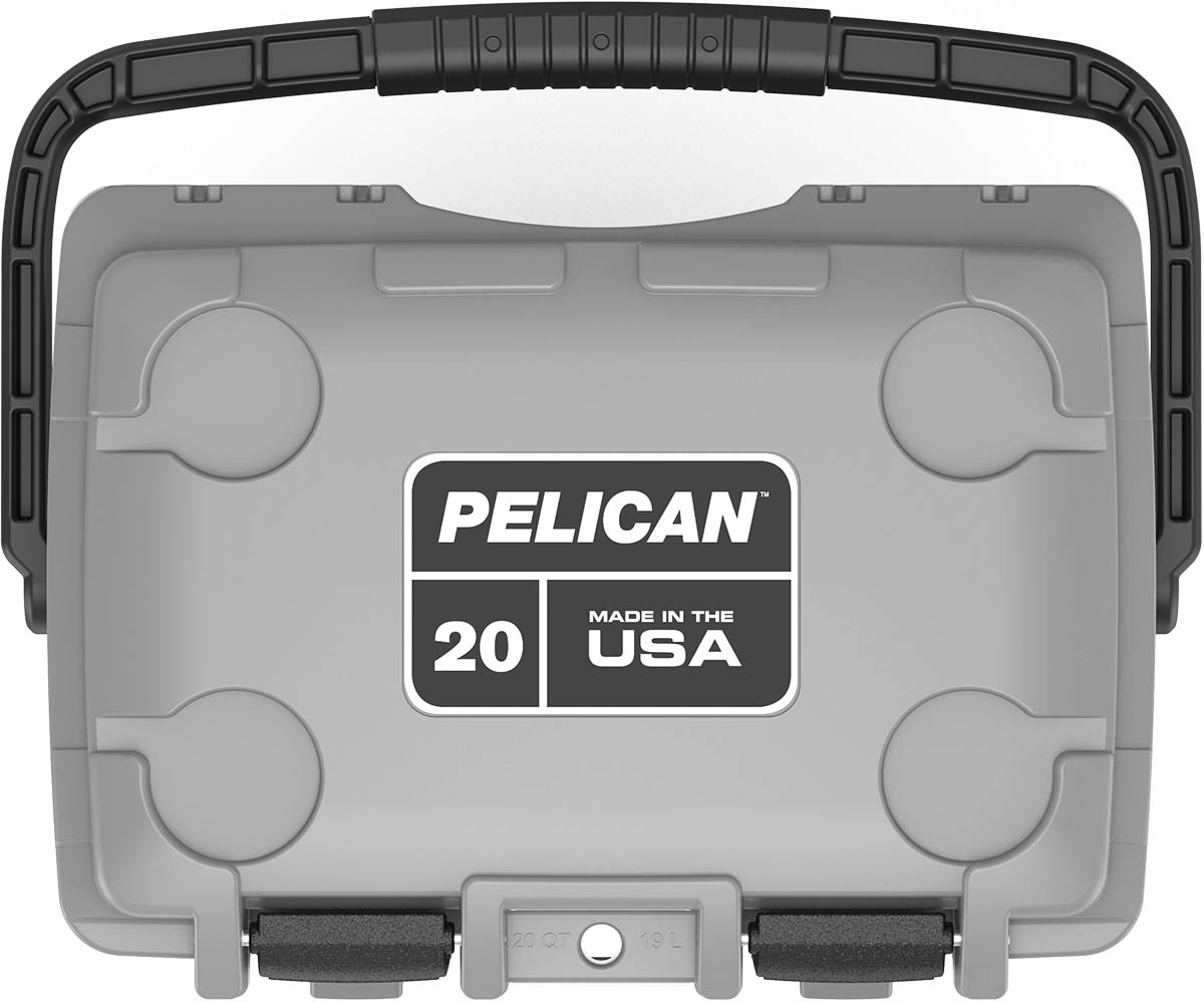 buy pelican 20qt shop marine cooler made in usa