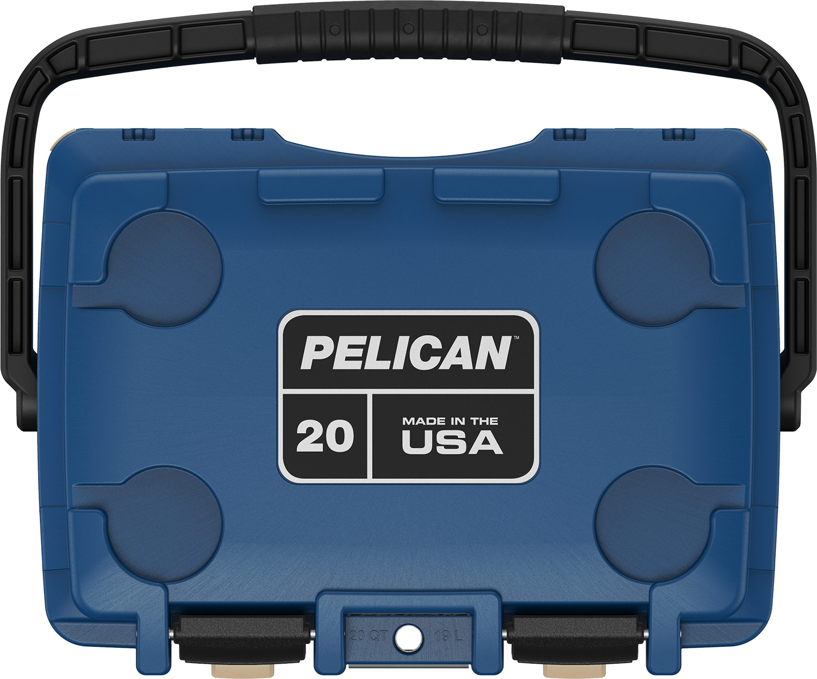 pelican 20qt blue overland coolers cooler