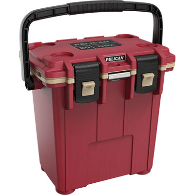 pelican 20qt canyon red overland cooler