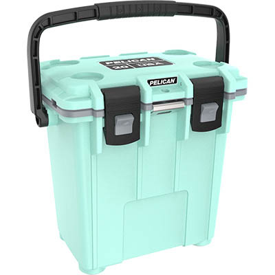 shop pelican 20qt buy marine coolers green
