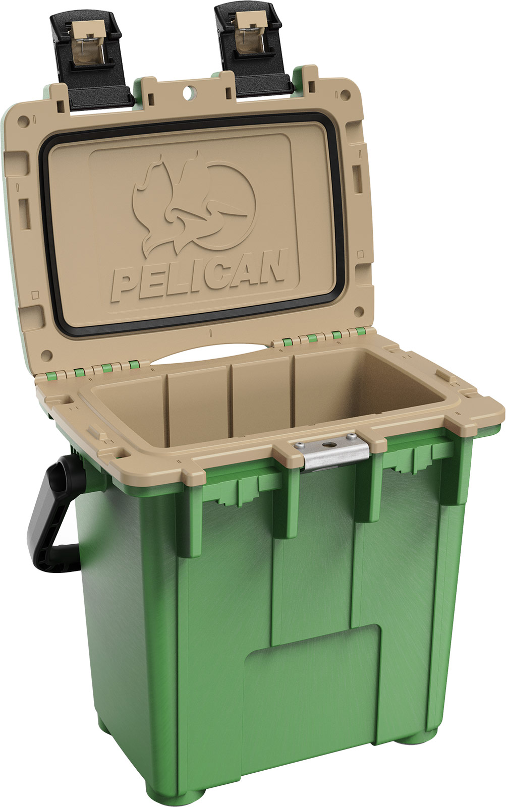 pelican 20qt green tan overland cooler 20qt