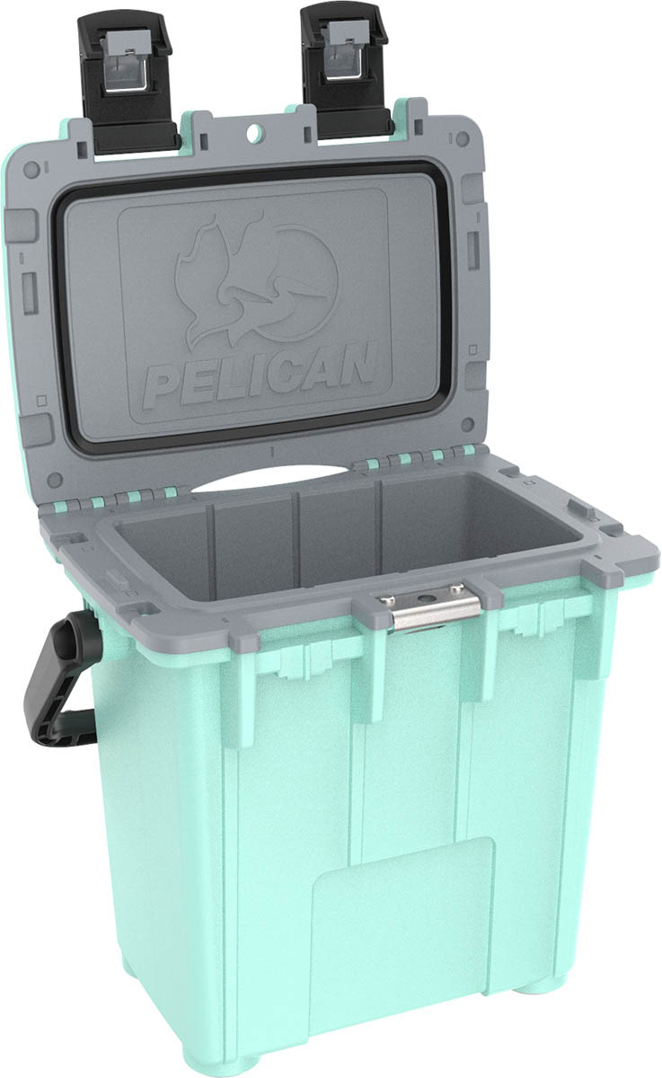 shop pelican 20qt seafoam marine buy green cooler