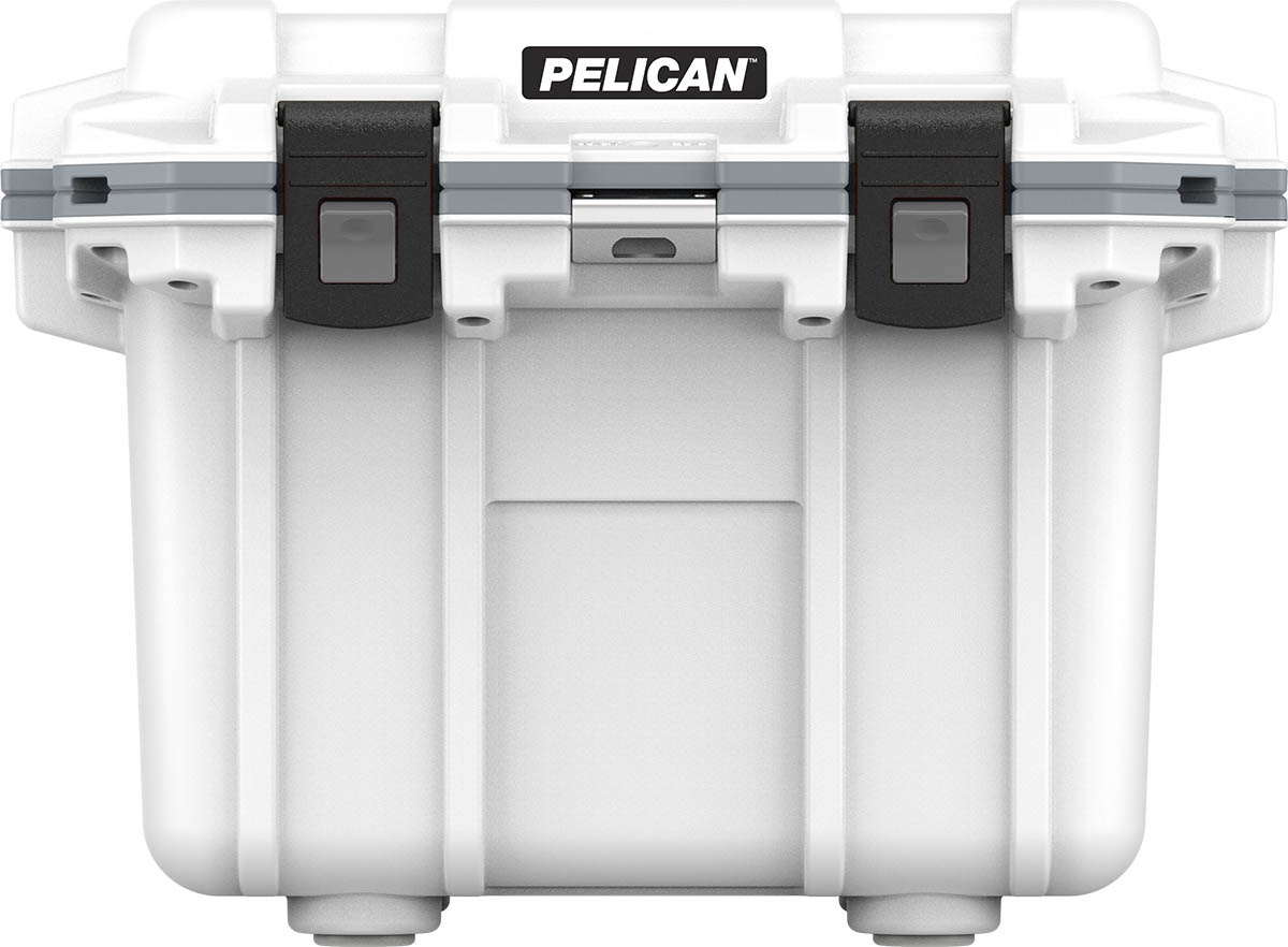 pelican 30 qt marine fishing cooler