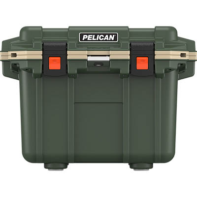 buy pelican 30qt shop outdoor hunting coolers green