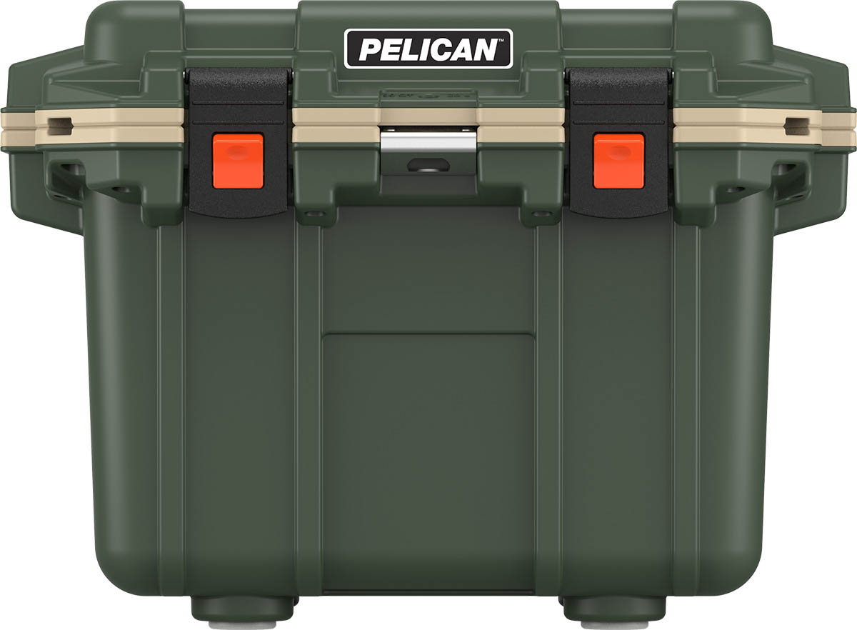 pelican green cooler outdoor hunting coolers