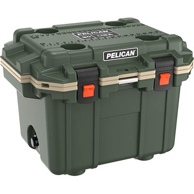 buy pelican 30qt shop hunting cooler usa made
