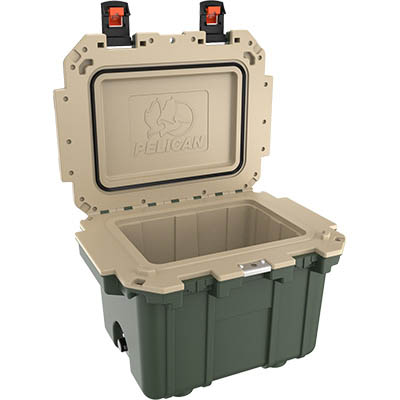 pelican outdoor cooler camping super cooler