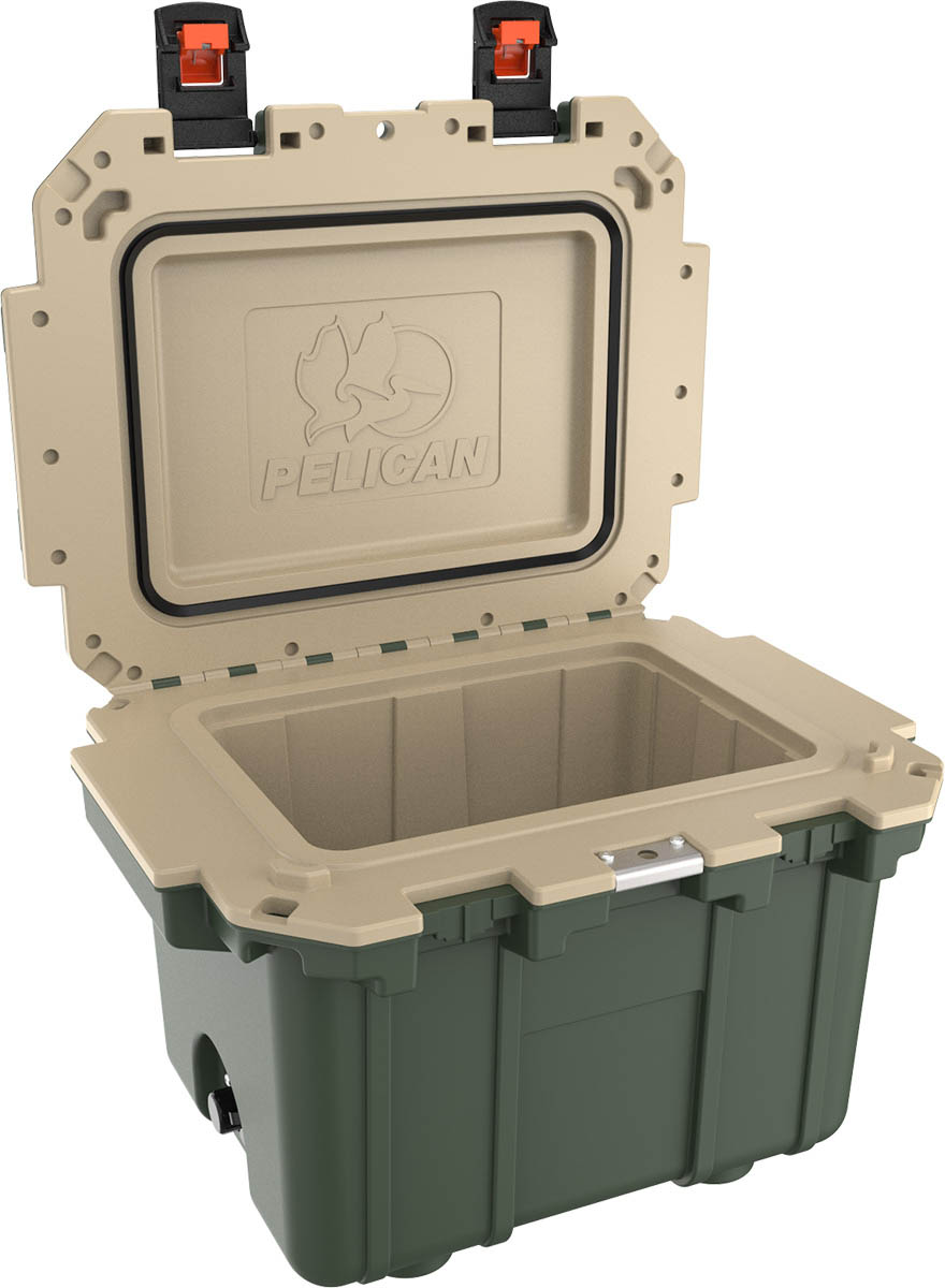 shop pelican 30qt outdoor super camping cooler