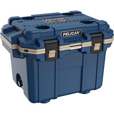 pelican 30qt overlanding coolers blue cooler