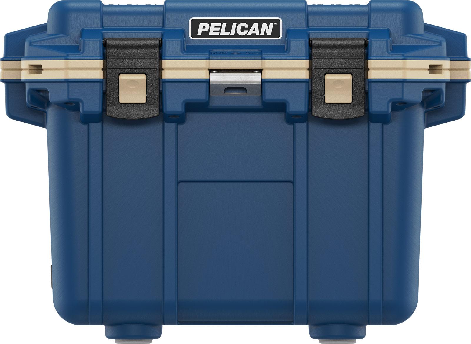 pelican 30qt pacific blue overland cooler 30qt