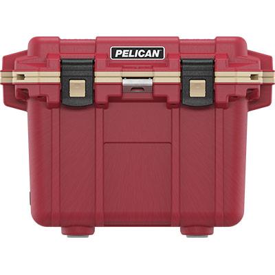 pelican 30qt red cooler overlanding coolers