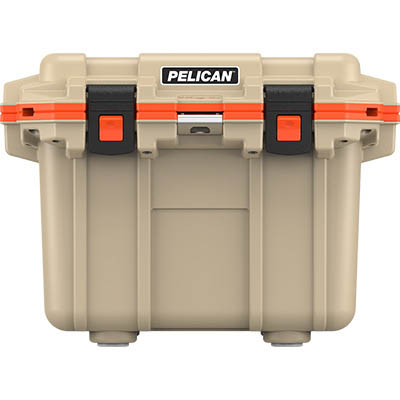 pelican tan cooler outdoor camping coolers