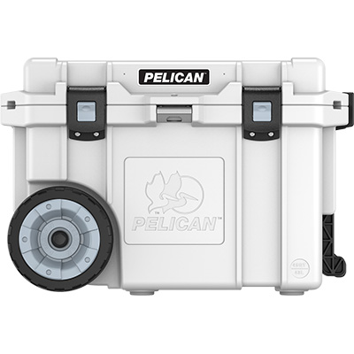 shop pelican 45qw buy 45 quart rolling cooler