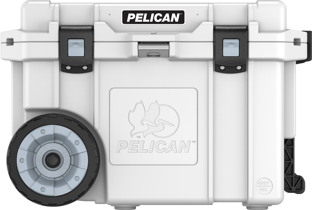 pelican peli products 45QW wheeled rolling portable ice chest