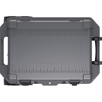 pelican graphite cooler 45 quart wheeled