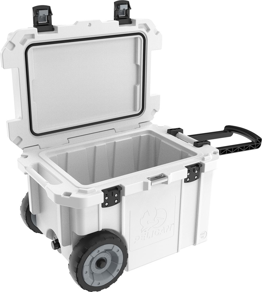 pelican peli products 45QW coldest best usa made rolling cooler