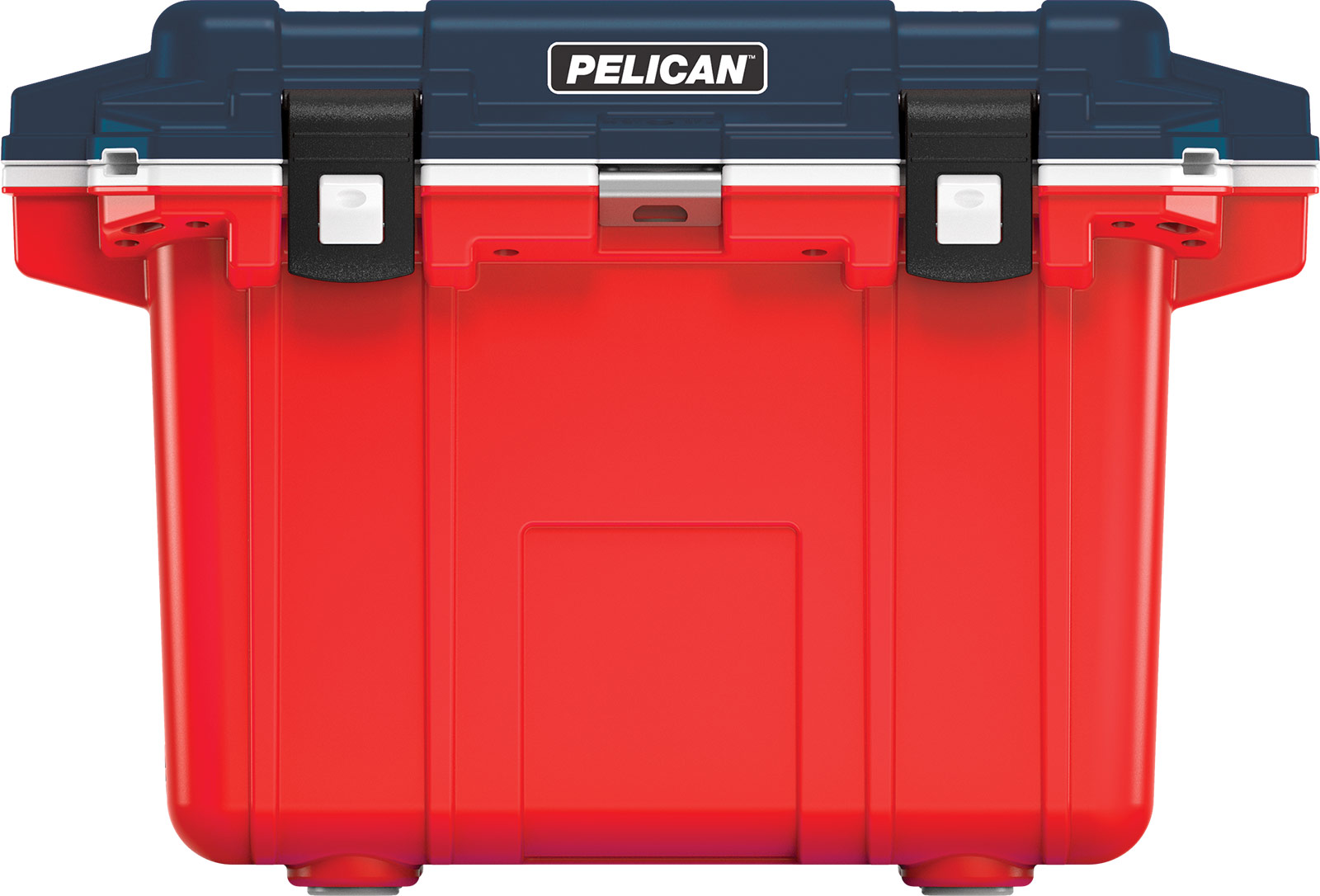 pelican 50qt americana coolers blue white red