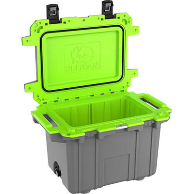 buy pelican 50qt shop super coolers green