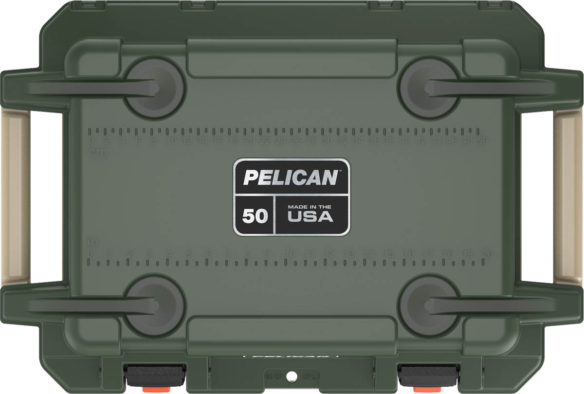 shop pelican 50qt buy od green coolers made in usa