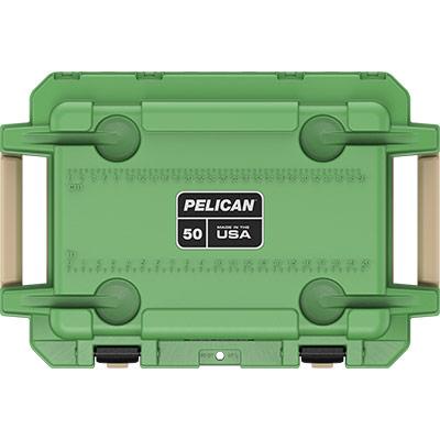 pelican 50qt overlanding coolers green 50 quart