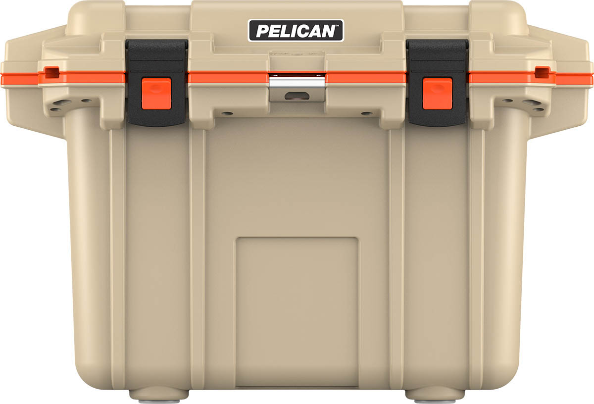 shop pelican 50qt buy camping cooler tan outdoor