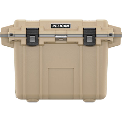 pelican 50qt tan outdoor coolers overland