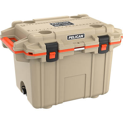 shopping pelican 50qt buy super cooler ice chest tan