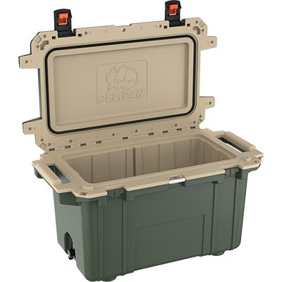 buy pelican 70qt 70 quart shop super coolers green
