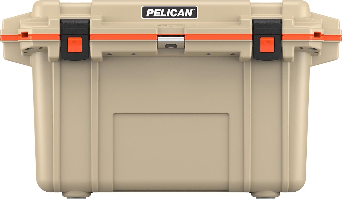 buy pelican 70qt shop tan outdoor cooler