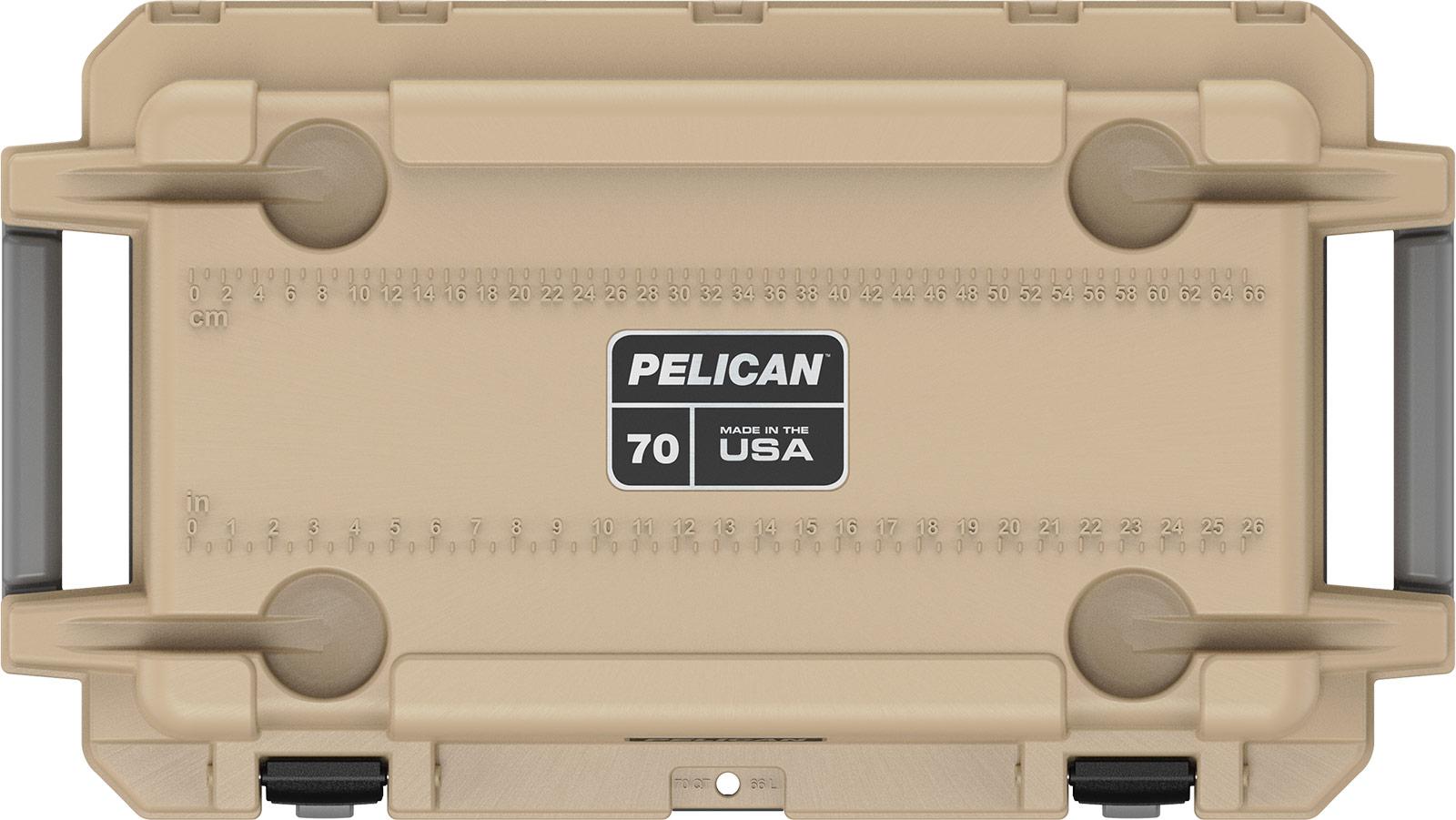 pelican 70qt coyote tan overland cooler
