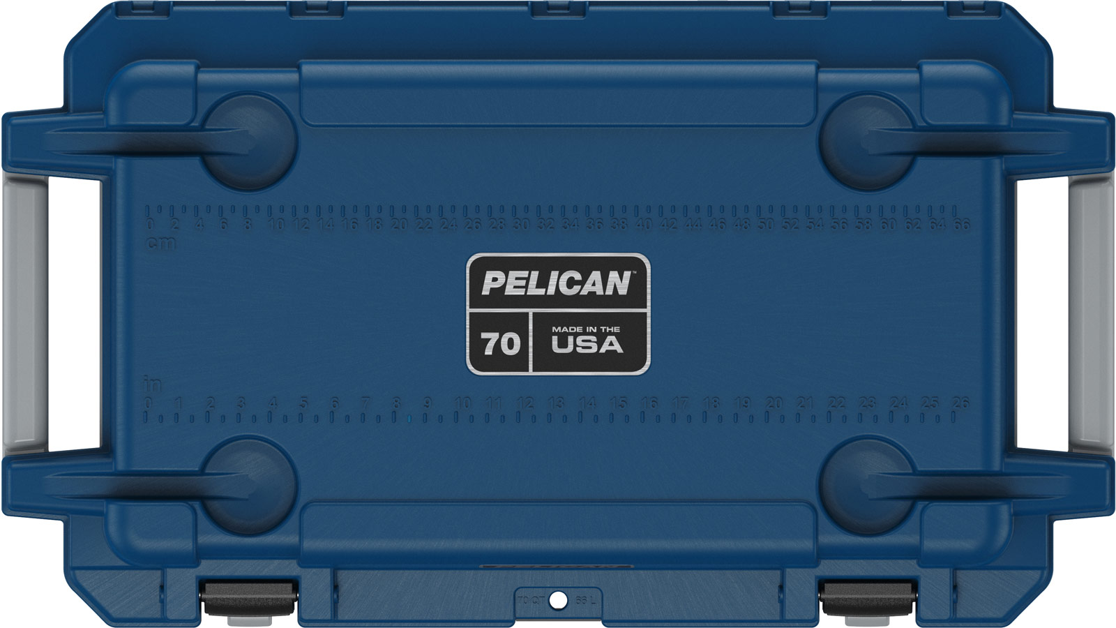 pelican food cooler 70qt pacific blue gray