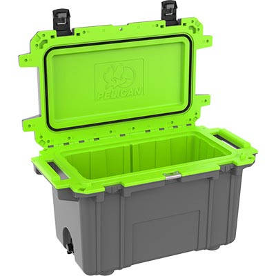 buy pelican 70qt shop green camping coolers